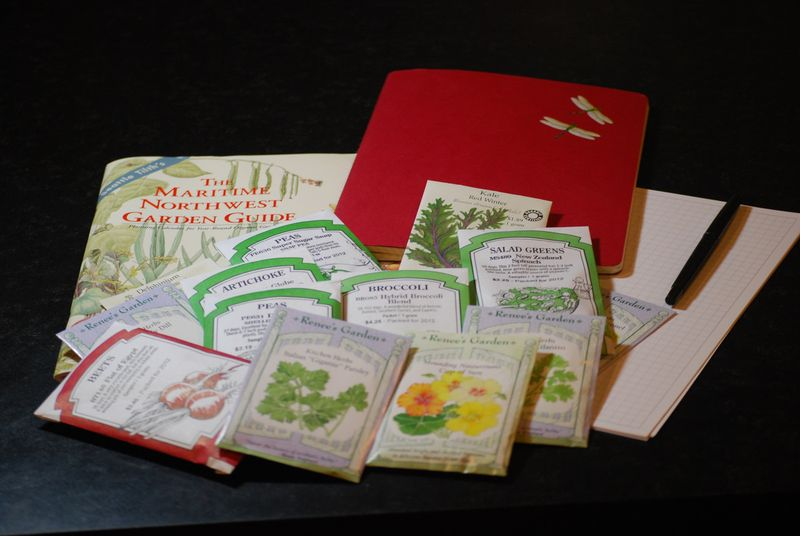Seeds and Garden Planning
